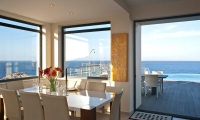 Luxury-seafront-villas-for-sale-in-Chania-Crete-Greece-dinning-area