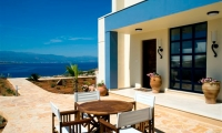 Luxury-seafront-villas-for-sale-in-Chania-Crete-Greece-front-yard