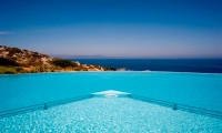 Luxury-seafront-villas-for-sale-in-Chania-Crete-Greece-swimming-pool