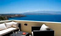 Luxury-seafront-villas-for-sale-in-Chania-Crete-Greece-views-from-bedroom's-veranda